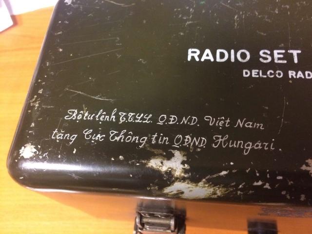 A Vietnami Népi Hadsereg ajándéka a magyar Néphadseregnek