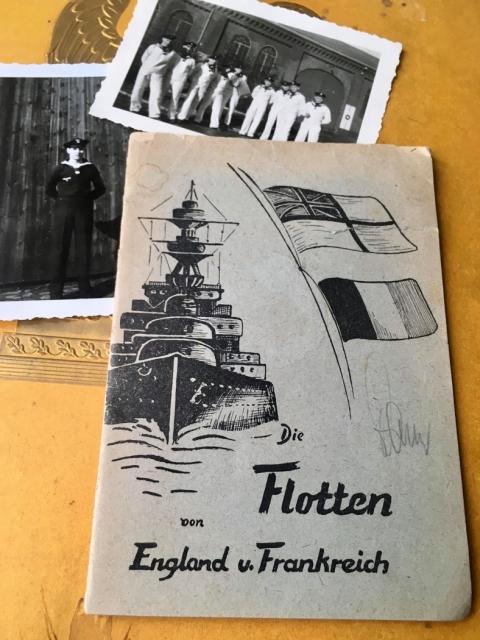 Die Flotte von England und Frankreich