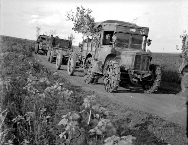32M Breda nehéztüzérségi vontató