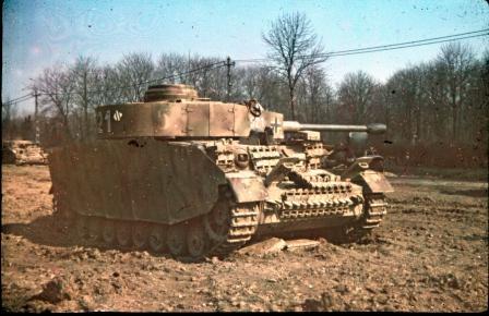 A Panzer Lehr hadosztály járműve Magyarországon