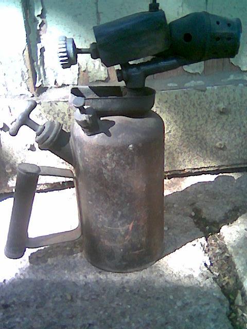 Benzin lámpa