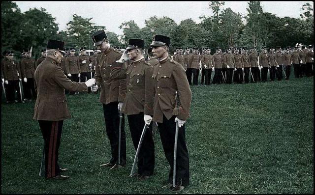 Kitüntetés a Ludovika akadémián 1936-ban