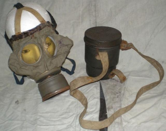 Első világháborús gázálarc