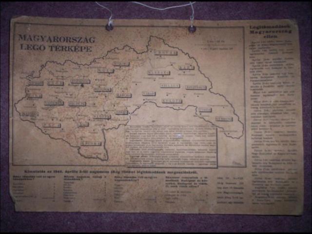 Magyarország légó térképe