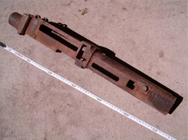12,7mm-es szovjet rep. géppuska alkatrész
