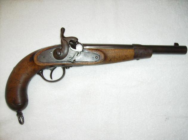 1862M Lorenz lovassági pisztoly.