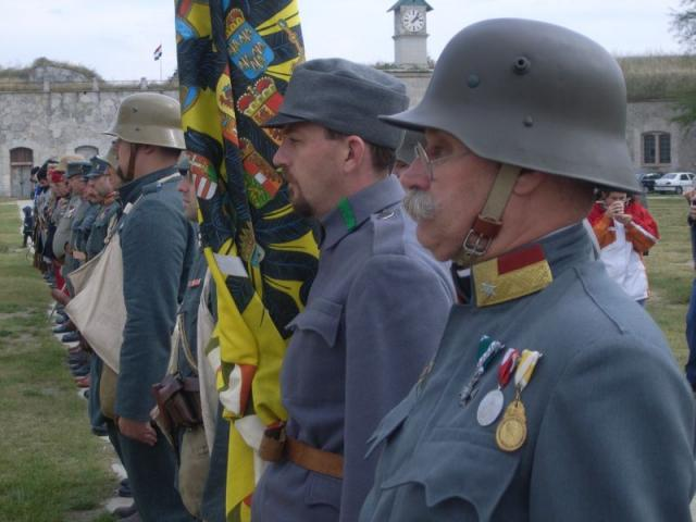 I. Világháborús hadijáték a Monostori erődben 2008