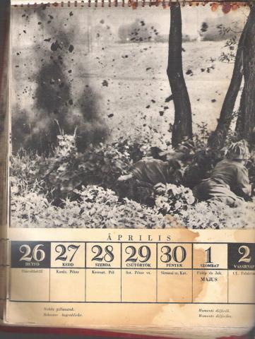 Doni naptár 1943 április - május