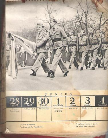 Doni naptár 1943 júni - júli