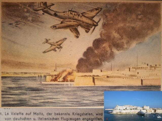 Stukák Málta felett – La Valletta ostroma.