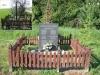 A II. világháború végén kivégzett székely leventék emlékműve, Ikervár - Péterfa majorban.