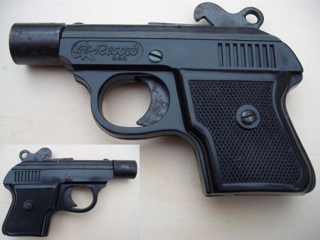FB Record jelzőpisztoly a híres Walther P 38-as kisöccse