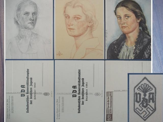 Három képeslap a III. Birodalomból