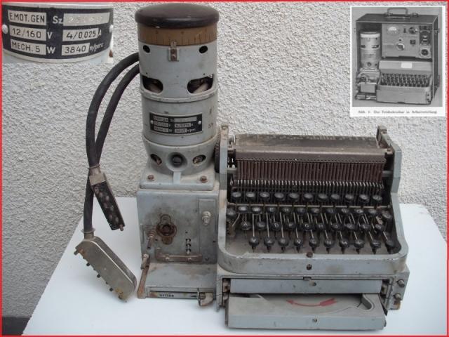 HTG – 1 Hellschreiber adó-vevő; Made in Hungary