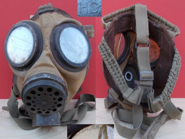 Magyar 34M. gázálarc a padlásról