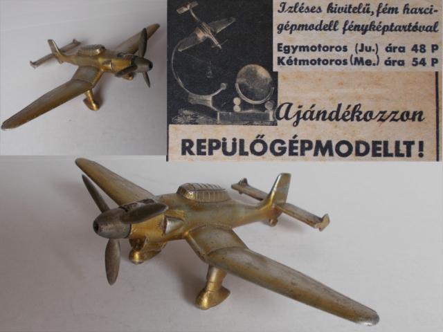 """Junkers Ju 87 """"Stuka"""" repülőgép modell a II. Világháború időszakából"""