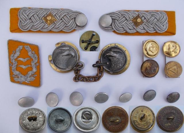 Katonai gombok és egyebek a varródobozból