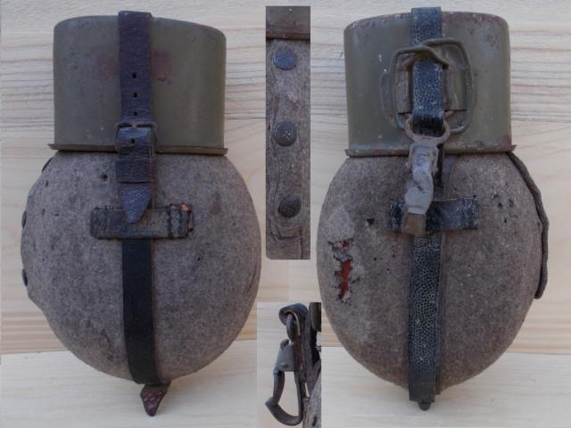 Feldflasche M31 egy ausztriai padlásról