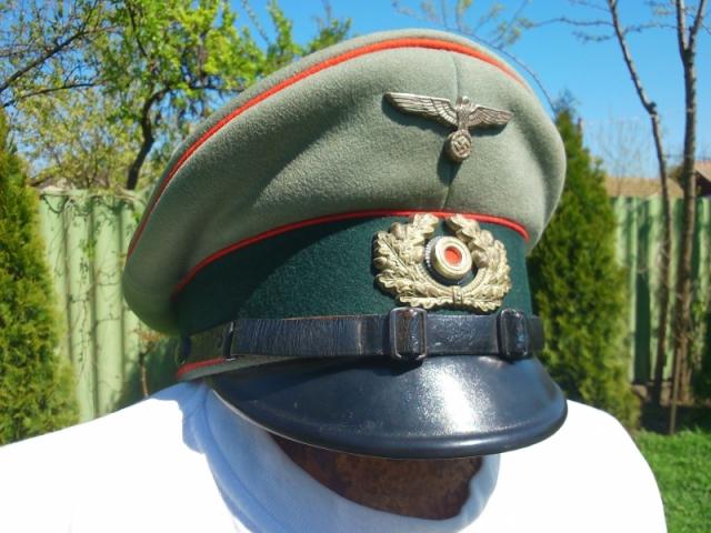 Wehrmacht tüzér tányérsapka