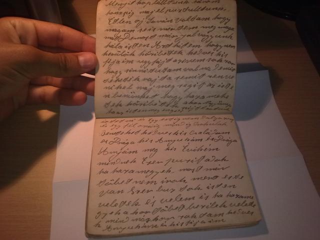 Dédipapám hadifogságban írt naplója, München