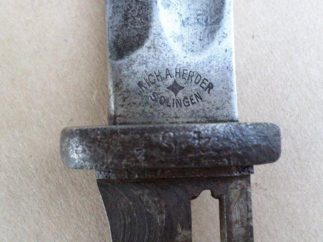 Mauser bajonett gazdag beütő feltéttel