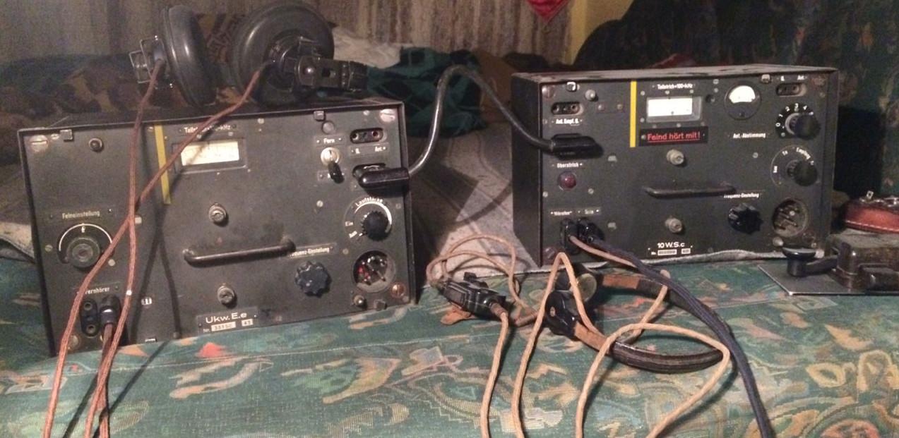 UKW e.E és 10W s.C - azaz a Fu5 rádióállomás