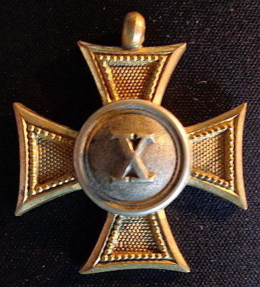 Legénységi Szolgálati Jel II. osztálya 10 év után