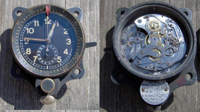 Fl. 23885 Junghans német repülőgép óra