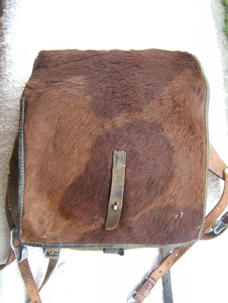 Tornister, német borjú hátizsák RBNr kóddal
