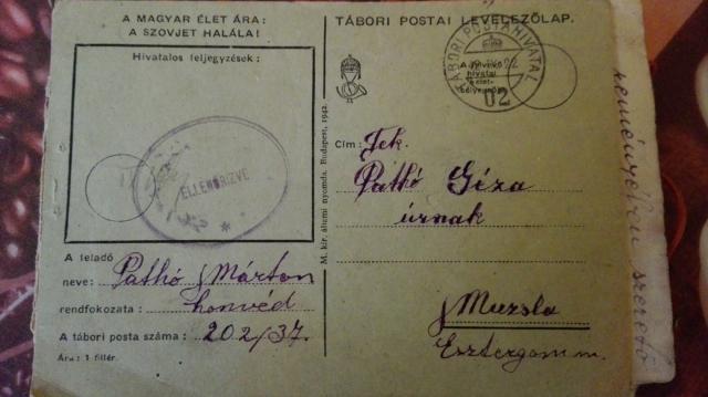 Levelezőlap Don-kanyarból