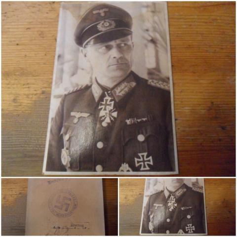Lovagkereszt mellett magyar(?!) kitüntetés?  Ki lehet a képen?