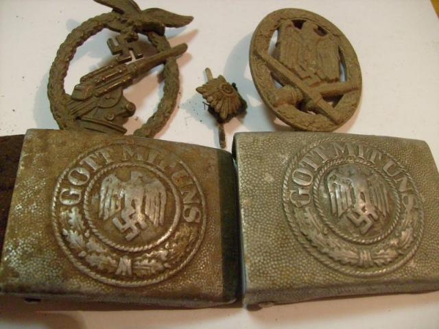 (Talán a 711.)  Gyaloghadosztály  harcának tárgyi emlékei és kutatása.